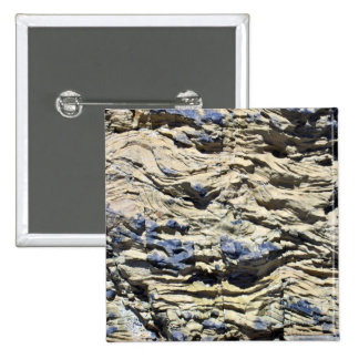 Irregular Rock Cliff with Swirls Pattern Buttons