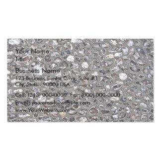 Irregular Stone Wall Texture Business Cards