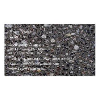 Irregular Stone Wall Texture Business Card Templates
