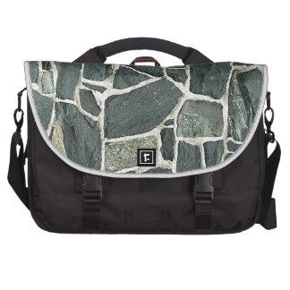 Irregular Stones Wall Texture Bag For Laptop