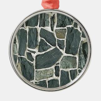Irregular Stones Wall Texture Christmas Tree Ornament