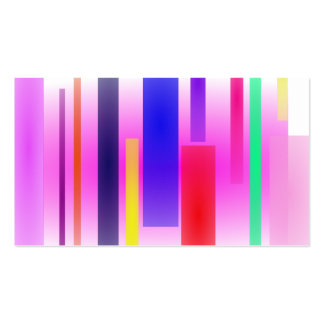 Irregular Stripes Business Cards