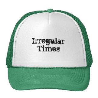 Irregular Times T-shirts custom Mens Ladies Trucker Hat