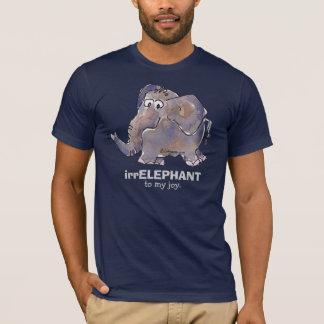 irrELEPHANT to my joy 2 cartoon Dark T Shirt