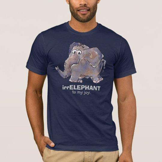 irrELEPHANT to my joy 2 cartoon Dark T Shirt