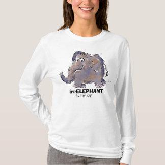 irrELEPHANT to my joy 2 cartoon T Shirt