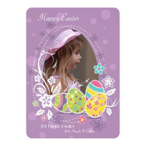 Irreplaceable Photo Easter Card