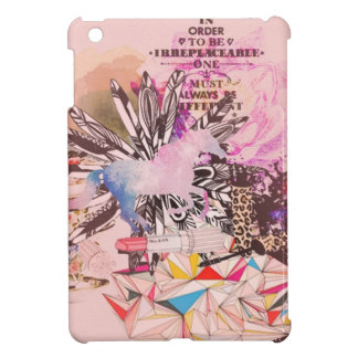 Irreplaceable, quirky kitsch girly art. case for the iPad mini