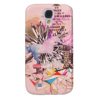 Irreplaceable, quirky kitsch girly art. galaxy s4 cover