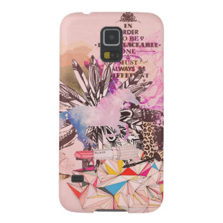 Irreplaceable, quirky kitsch girly art. galaxy s5 case