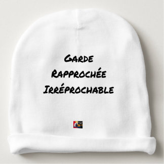 Irreproachable close guard - Word games Baby Beanie