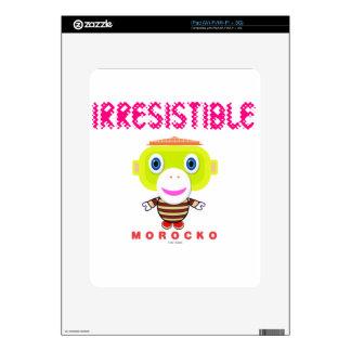 Irresistible-Cute Monkey-Morocko Decal For iPad