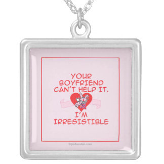 Irresistible Silver Plated Necklace