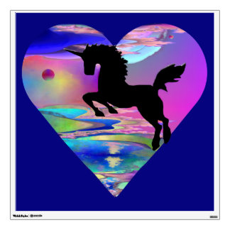 Irresistible Utherworld Unicorn Art Decal
