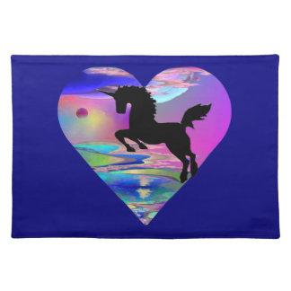 Irresistible Utherworld Unicorn Art Placemat