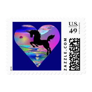Irresistible Utherworld Unicorn Art Stamp