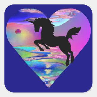 Irresistible Utherworld Unicorn Art Sticker