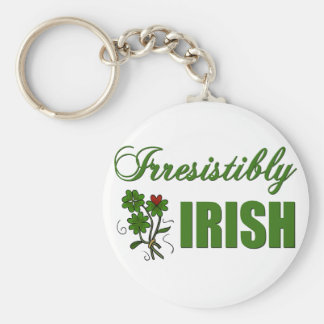 Irresistibly Irish Keychain