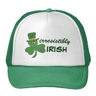Irresistibly Irish Shamrock - Truker Hat