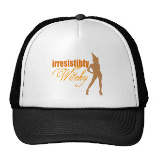Irresistibly Witchy Mesh Hat