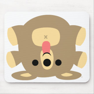 Irreverent Cartoon Bear Baby mousepad