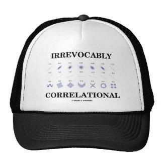 Irrevocablemente correlacional (estadísticas de la gorros bordados