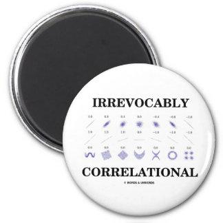 Irrevocably Correlational (Correlation Statistics) Refrigerator Magnets