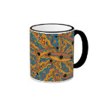 IrrgilMarrga - Boomerang/Shield Autumn Season Ringer Coffee Mug