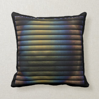 Irridescent Bubble Throw Pillow