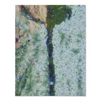 Irrigation channel 4.25x5.5 paper invitation card
