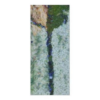 Irrigation channel 4x9.25 paper invitation card