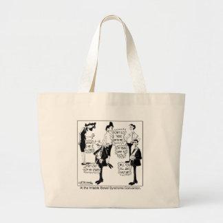 Irritable Bowel Syndrome Convention Jumbo Tote Bag