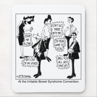 Irritable Bowel Syndrome Convention Mouse Pad