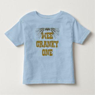 Irritable el pequenito - camiseta de los niños playera