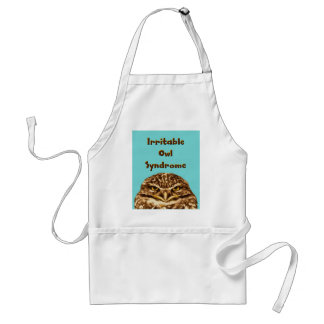 Irritable Owl Syndrome Adult Apron