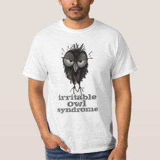 Irritable Owl Syndrome Funny Owl Saying T-Shirt