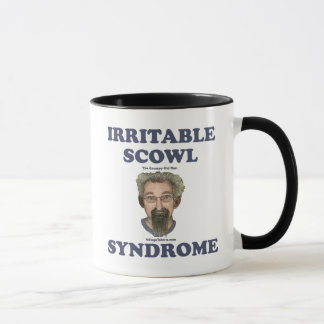 Irritable Scowl Grumpy Old Man Mug