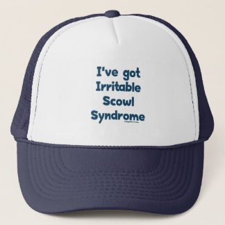 Irritable Scowl Sydrome Trucker Hat