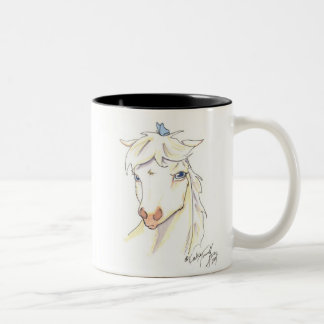 Irritated Elliot Two-Tone Coffee Mug