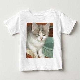 Irritated Kitten Baby T-Shirt