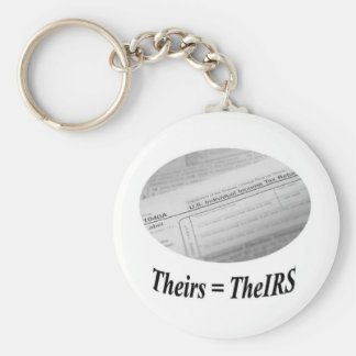 IRS 1040 tax form Keychain