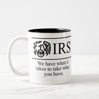 IRS Two Toned Coffee Mug mug