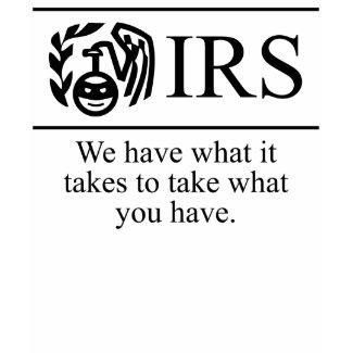 IRS (Purple) Ladies Spaghetti shirt
