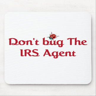 IRS Agent Mouse Pad