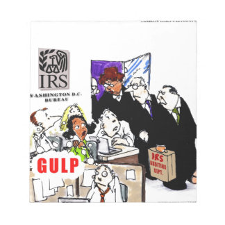 IRS Audits IRS Funny Memo Note Pad