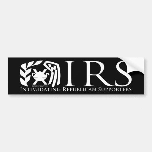 IRS BUMPER STICKER