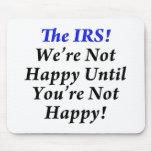 ¡IRS, camisetas del humor del impuesto! Tapete De Raton