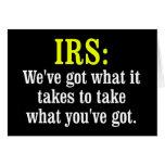 IRS CARD