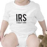 IRS - Chupa realmente Camisetas