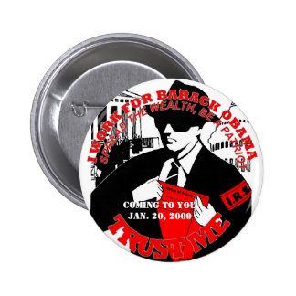 IRS COMING TO YOU 1 PINBACK BUTTON